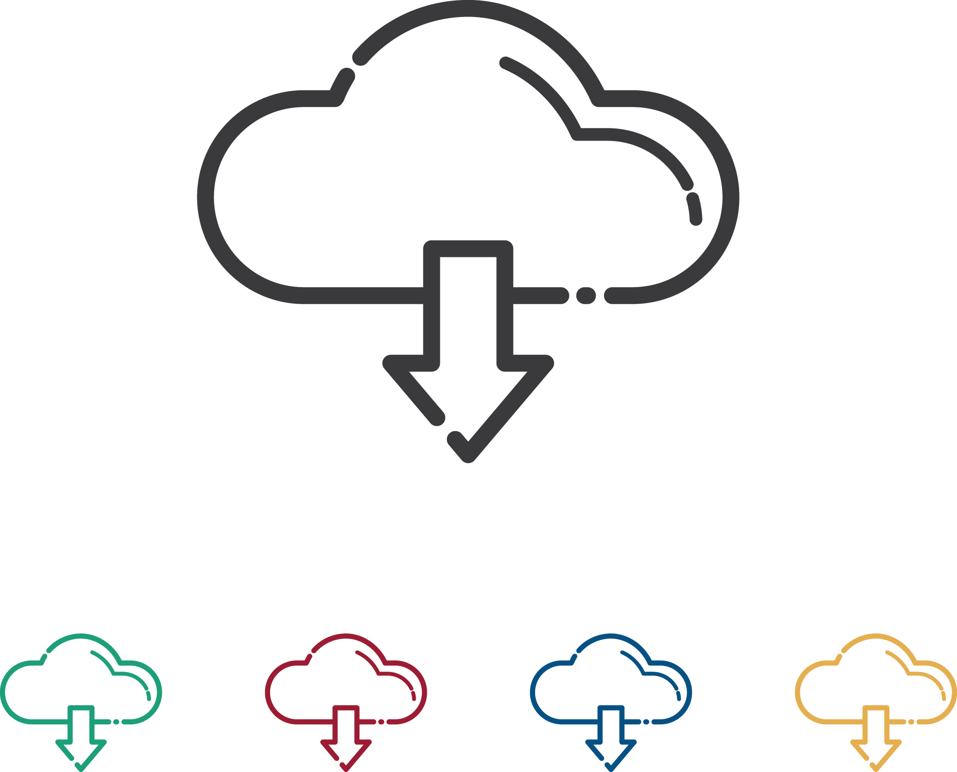 Download Cloud Icons